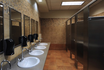 Commercial Bathroom-California Sewer & Rooter