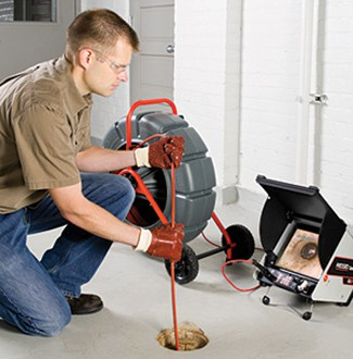 Video-inspection-Drain Cleaning Repair Services-California Sewer & Rooter-(855)-976-7473